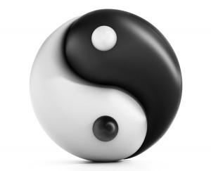 TCM Yin & Yang Symbol